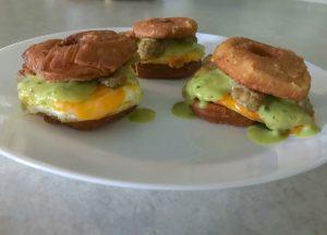 How To Make MINI Donut Breakfast Sandwich – Recipe