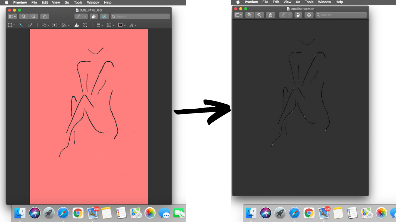 how to make digital prints using Canva