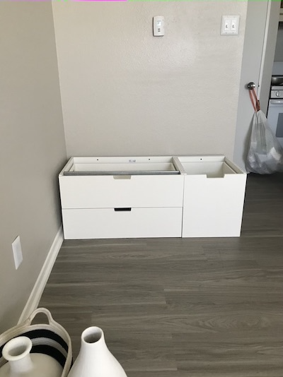 How To DIY A Kitchen Island – IKEA NORDLI Hack